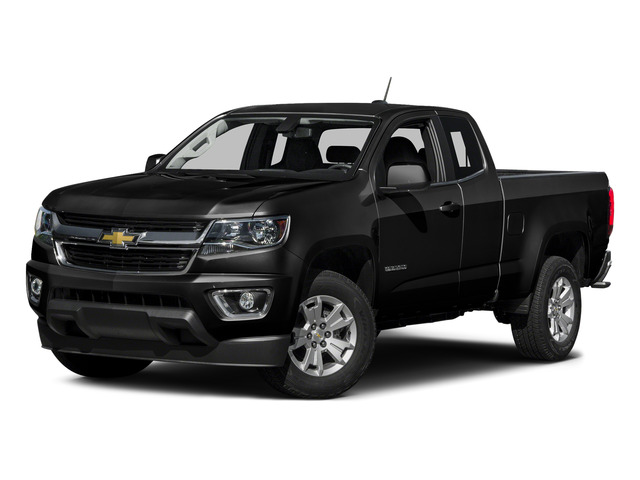 Black 2015 Chevrolet Colorado Pictures Colorado Extended Cab LT 4WD photos front view