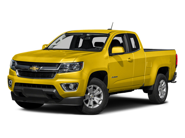 Rally Yellow 2015 Chevrolet Colorado Pictures Colorado Extended Cab LT 4WD photos front view