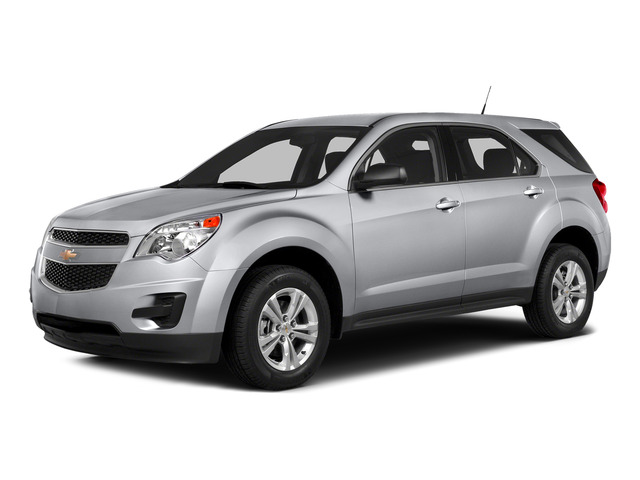 Silver Ice Metallic 2015 Chevrolet Equinox Pictures Equinox Utility 4D LS AWD I4 photos front view