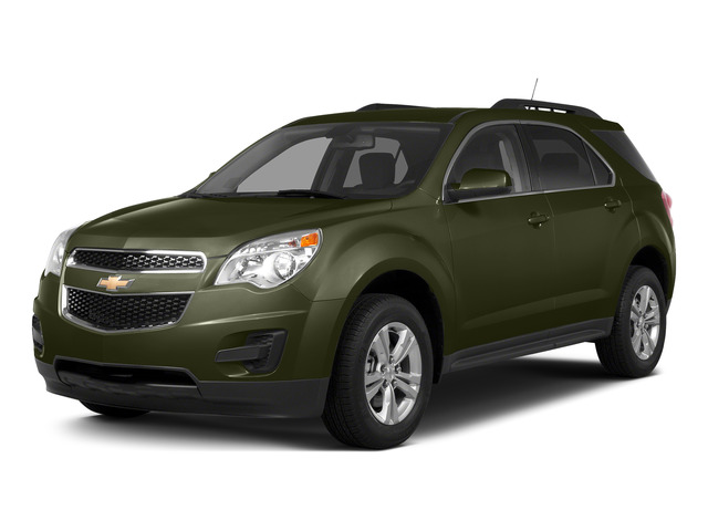 Sea Grass Metallic 2015 Chevrolet Equinox Pictures Equinox Utility 4D 2LT AWD I4 photos front view