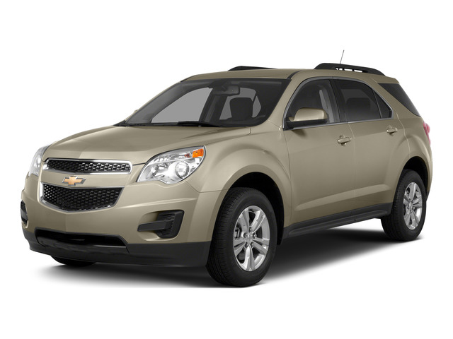 Champagne Silver Metallic 2015 Chevrolet Equinox Pictures Equinox Utility 4D LT AWD I4 photos front view