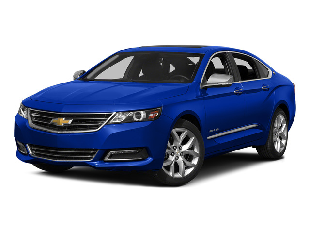 Blue Velvet Metallic 2015 Chevrolet Impala Pictures Impala Sedan 4D LT V6 photos front view