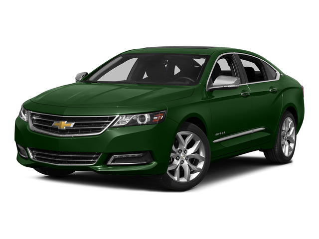 Rainforest Green Metallic 2015 Chevrolet Impala Pictures Impala Sedan 4D LT V6 photos front view