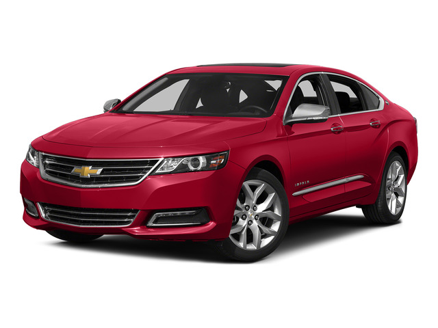Red Rock Metallic 2015 Chevrolet Impala Pictures Impala Sedan 4D LT V6 photos front view