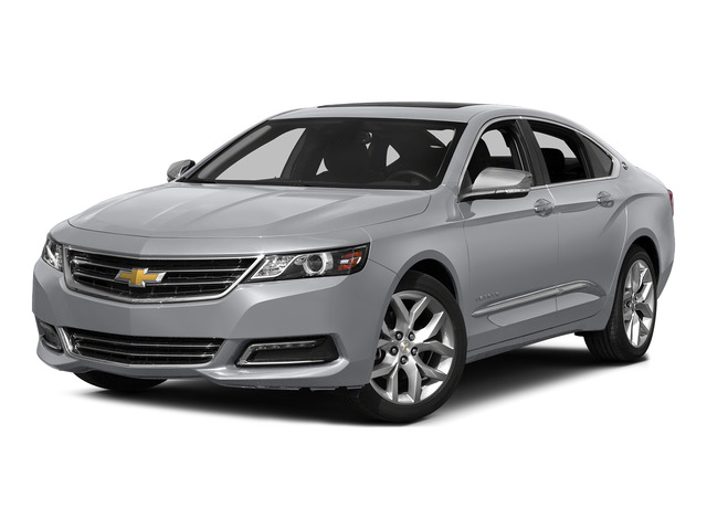 Silver Ice Metallic 2015 Chevrolet Impala Pictures Impala Sedan 4D LT V6 photos front view