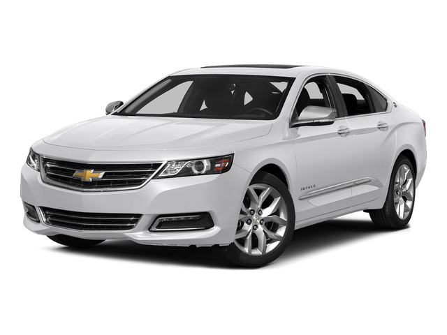 Summit White 2015 Chevrolet Impala Pictures Impala Sedan 4D LT V6 photos front view