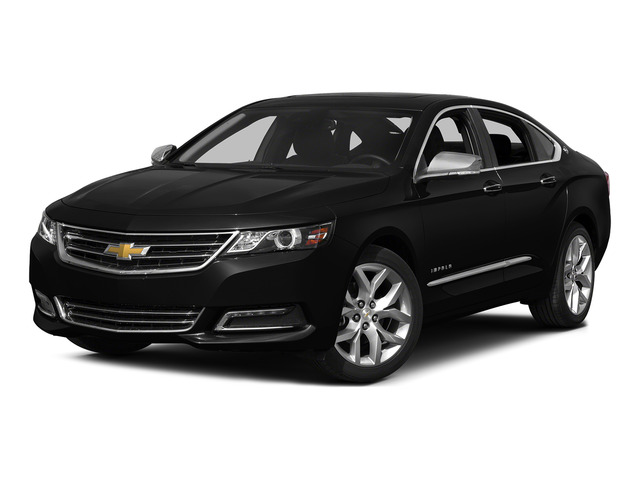 Black 2015 Chevrolet Impala Pictures Impala Sedan 4D LT V6 photos front view