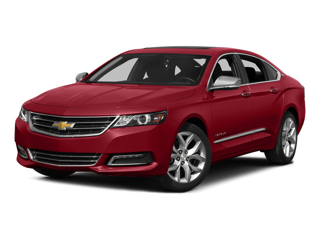Crystal Red Tintcoat 2015 Chevrolet Impala Pictures Impala Sedan 4D LT V6 photos front view