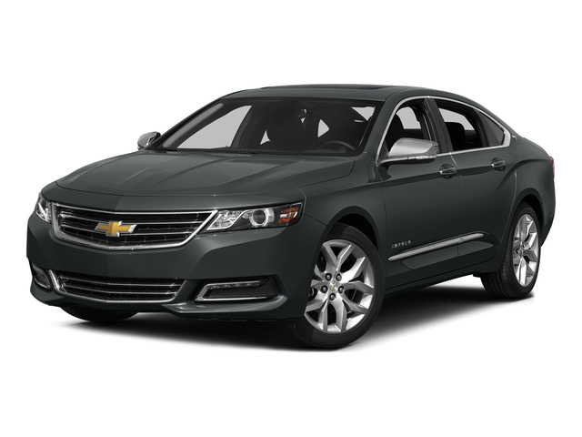 Ashen Gray Metallic 2015 Chevrolet Impala Pictures Impala Sedan 4D LT V6 photos front view