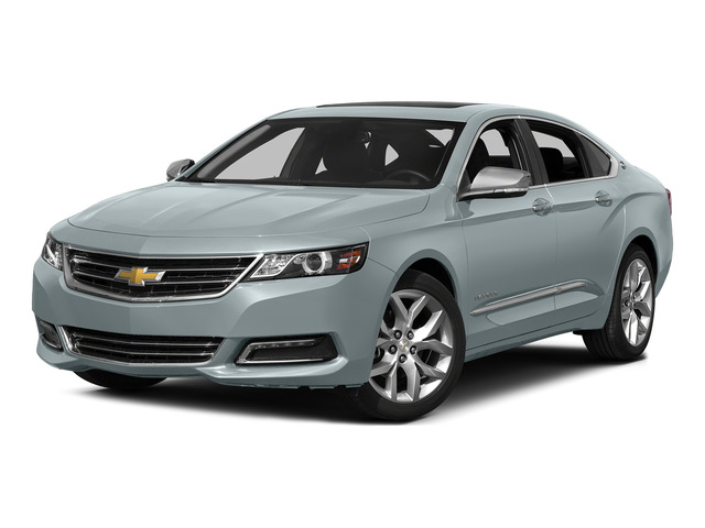 Silver Topaz Metallic 2015 Chevrolet Impala Pictures Impala Sedan 4D LT V6 photos front view
