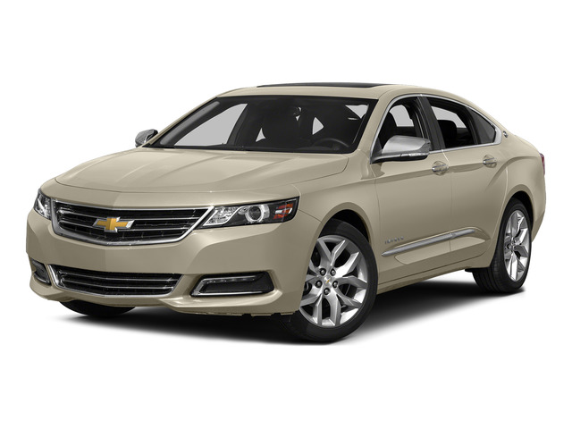 Champagne Silver Metallic 2015 Chevrolet Impala Pictures Impala Sedan 4D LT V6 photos front view