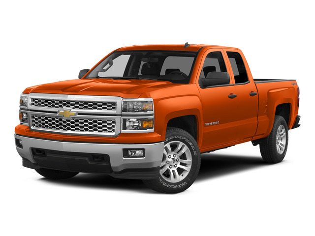 Sunset Orange Metallic 2015 Chevrolet Silverado 1500 Pictures Silverado 1500 Extended Cab LTZ 2WD photos front view