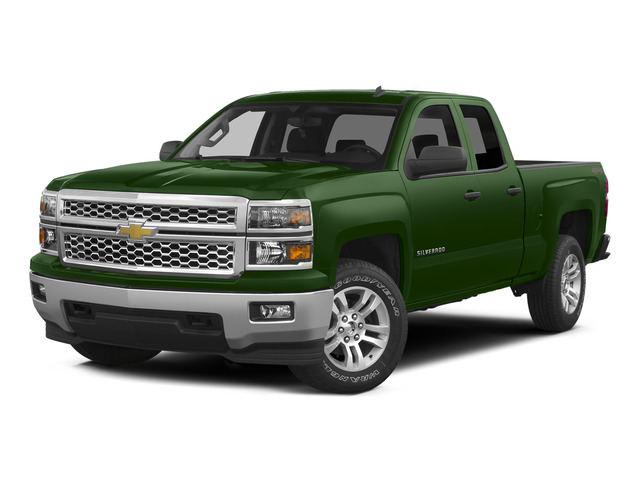 Rainforest Green Metallic 2015 Chevrolet Silverado 1500 Pictures Silverado 1500 Extended Cab LTZ 2WD photos front view
