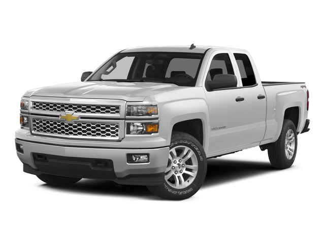 Summit White 2015 Chevrolet Silverado 1500 Pictures Silverado 1500 Extended Cab Work Truck 2WD photos front view