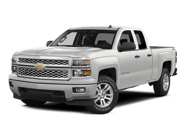 Summit White 2015 Chevrolet Silverado 1500 Pictures Silverado 1500 Extended Cab LT 2WD photos front view