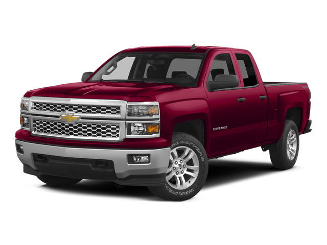 Victory Red 2015 Chevrolet Silverado 1500 Pictures Silverado 1500 Extended Cab LT 2WD photos front view