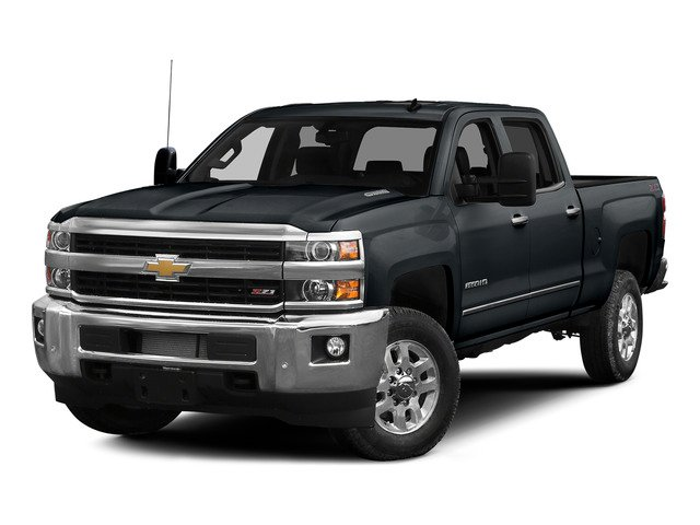 Blue Granite Metallic 2015 Chevrolet Silverado 2500HD Pictures Silverado 2500HD Crew Cab LTZ 4WD photos front view