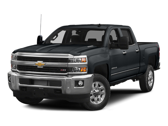 Blue Granite Metallic 2015 Chevrolet Silverado 2500HD Pictures Silverado 2500HD Crew Cab LT 4WD photos front view