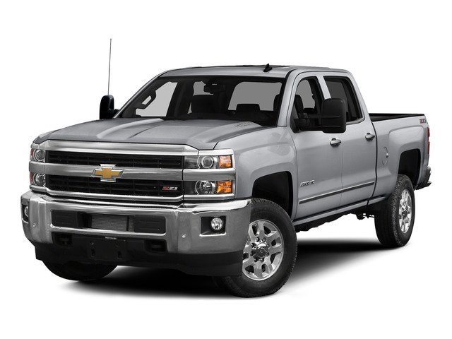 Silver Ice Metallic 2015 Chevrolet Silverado 2500HD Pictures Silverado 2500HD Crew Cab LT 4WD photos front view