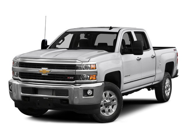 Summit White 2015 Chevrolet Silverado 2500HD Pictures Silverado 2500HD Crew Cab LTZ 4WD photos front view