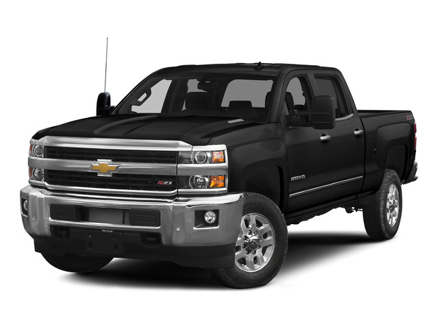 Black 2015 Chevrolet Silverado 2500HD Pictures Silverado 2500HD Crew Cab LTZ 4WD photos front view