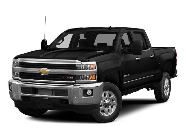 Black 2015 Chevrolet Silverado 2500HD Pictures Silverado 2500HD Crew Cab LT 4WD photos front view