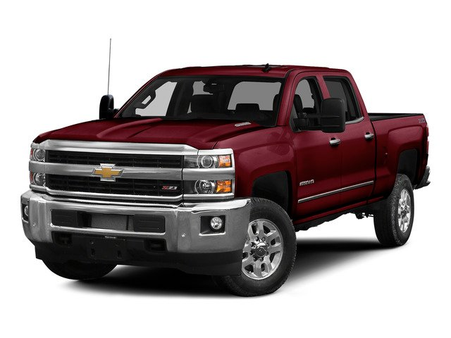 Deep Ruby Metallic 2015 Chevrolet Silverado 2500HD Pictures Silverado 2500HD Crew Cab LT 4WD photos front view