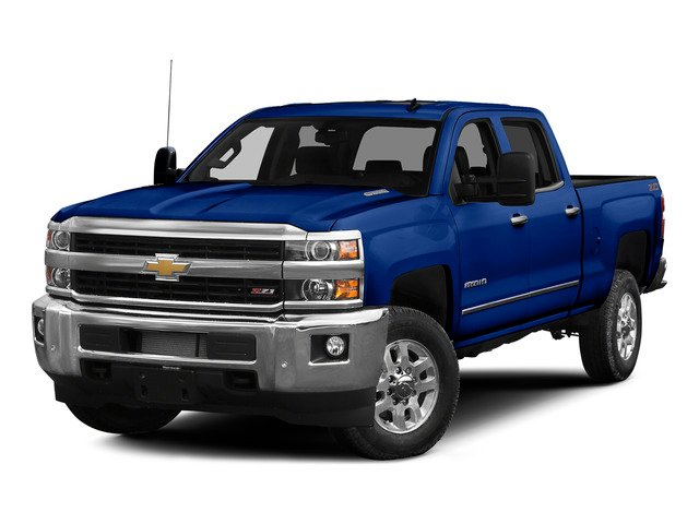 Blue Topaz Metallic 2015 Chevrolet Silverado 2500HD Pictures Silverado 2500HD Crew Cab LT 4WD photos front view