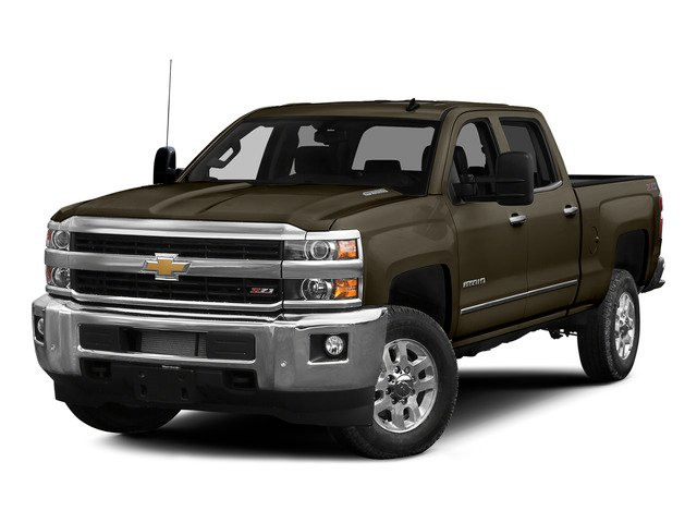 Brownstone Metallic 2015 Chevrolet Silverado 2500HD Pictures Silverado 2500HD Crew Cab LT 4WD photos front view