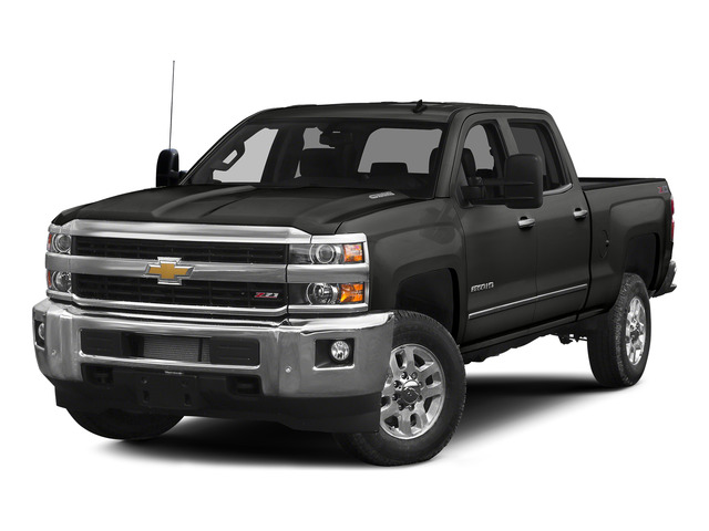 Tungsten Metallic 2015 Chevrolet Silverado 2500HD Pictures Silverado 2500HD Crew Cab LT 4WD photos front view