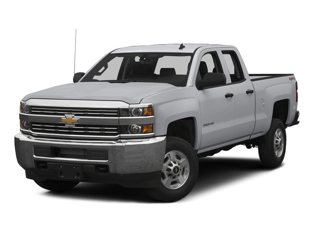 Silver Ice Metallic 2015 Chevrolet Silverado 2500HD Pictures Silverado 2500HD Extended Cab LT 2WD photos front view