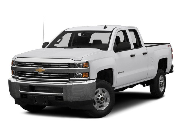 Summit White 2015 Chevrolet Silverado 2500HD Pictures Silverado 2500HD Extended Cab LTZ 2WD photos front view