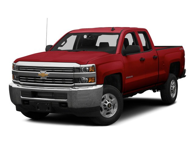 Victory Red 2015 Chevrolet Silverado 2500HD Pictures Silverado 2500HD Extended Cab LT 2WD photos front view