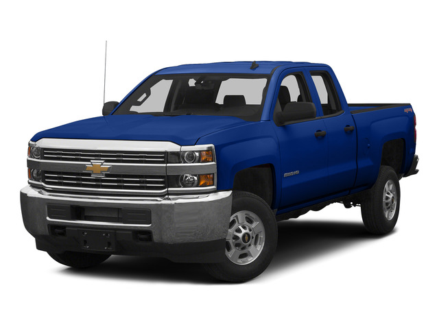 Blue Topaz Metallic 2015 Chevrolet Silverado 2500HD Pictures Silverado 2500HD Extended Cab LT 2WD photos front view