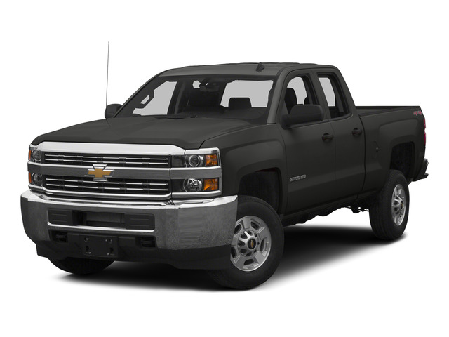 Tungsten Metallic 2015 Chevrolet Silverado 2500HD Pictures Silverado 2500HD Extended Cab LTZ 2WD photos front view