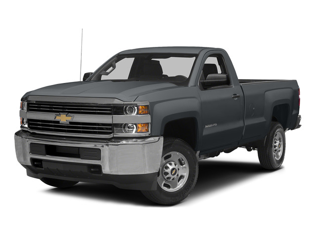 Blue Granite Metallic 2015 Chevrolet Silverado 2500HD Pictures Silverado 2500HD Regular Cab LT 2WD photos front view