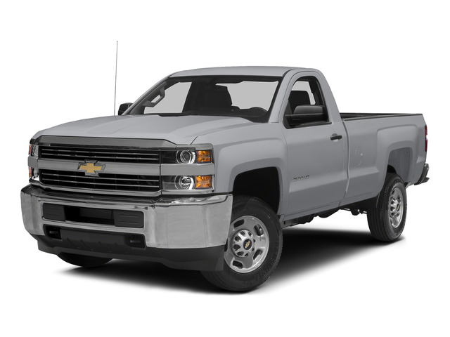 Silver Ice Metallic 2015 Chevrolet Silverado 2500HD Pictures Silverado 2500HD Regular Cab LT 2WD photos front view