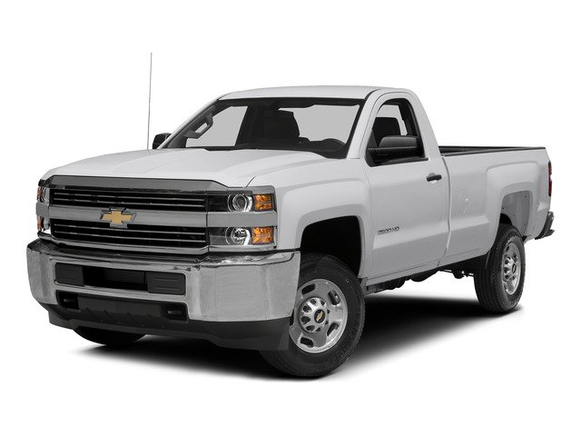 Summit White 2015 Chevrolet Silverado 2500HD Pictures Silverado 2500HD Regular Cab LT 2WD photos front view