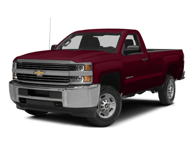 Deep Ruby Metallic 2015 Chevrolet Silverado 2500HD Pictures Silverado 2500HD Regular Cab LT 2WD photos front view