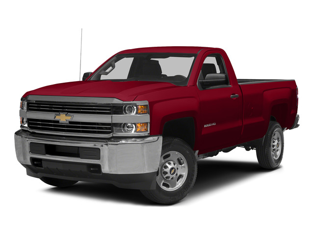 Victory Red 2015 Chevrolet Silverado 2500HD Pictures Silverado 2500HD Regular Cab LT 2WD photos front view