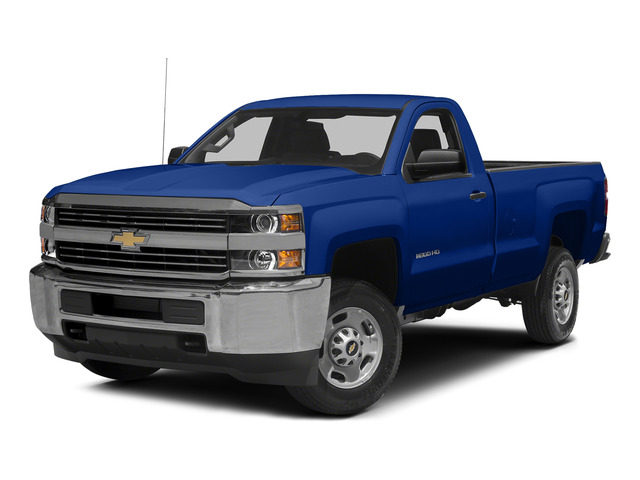 Blue Topaz Metallic 2015 Chevrolet Silverado 2500HD Pictures Silverado 2500HD Regular Cab LT 2WD photos front view
