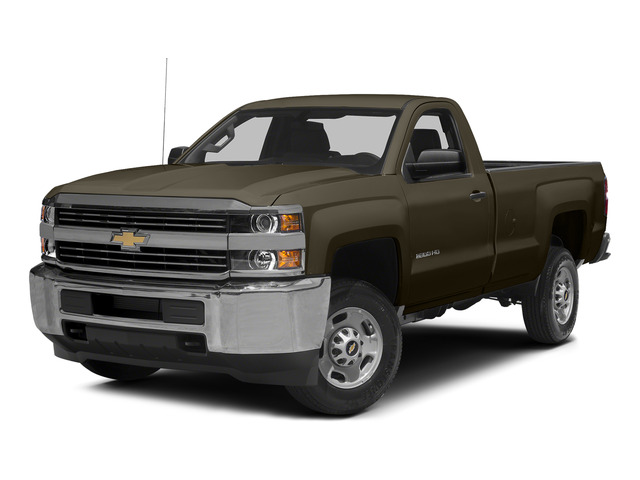 Brownstone Metallic 2015 Chevrolet Silverado 2500HD Pictures Silverado 2500HD Regular Cab LT 2WD photos front view