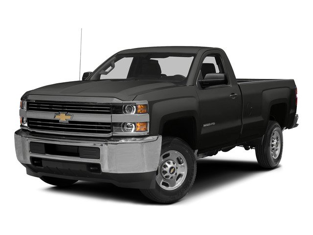 Tungsten Metallic 2015 Chevrolet Silverado 2500HD Pictures Silverado 2500HD Regular Cab LT 2WD photos front view