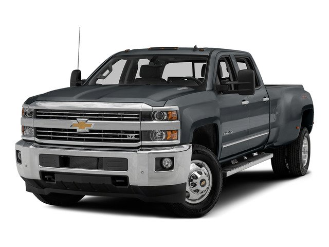 Blue Granite Metallic 2015 Chevrolet Silverado 3500HD Pictures Silverado 3500HD Crew Cab LTZ 2WD photos front view