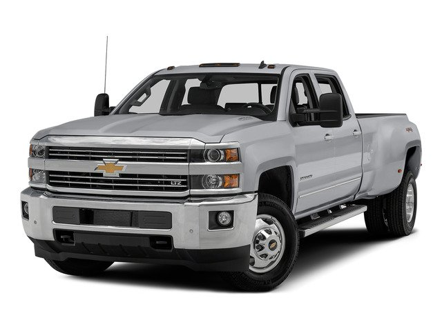 Silver Ice Metallic 2015 Chevrolet Silverado 3500HD Pictures Silverado 3500HD Crew Cab LTZ 2WD photos front view