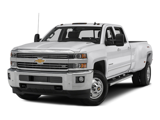 Summit White 2015 Chevrolet Silverado 3500HD Pictures Silverado 3500HD Crew Cab LTZ 2WD photos front view