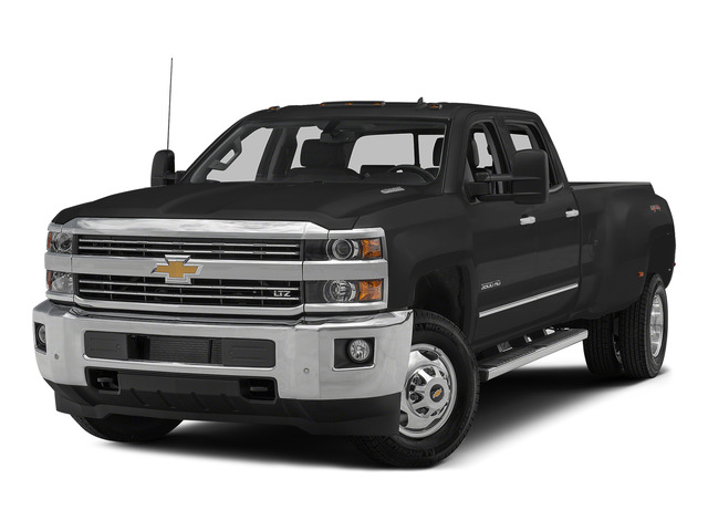 Black 2015 Chevrolet Silverado 3500HD Pictures Silverado 3500HD Crew Cab LTZ 2WD photos front view