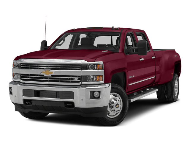 Deep Ruby Metallic 2015 Chevrolet Silverado 3500HD Pictures Silverado 3500HD Crew Cab LTZ 2WD photos front view