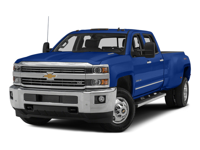 Blue Topaz Metallic 2015 Chevrolet Silverado 3500HD Pictures Silverado 3500HD Crew Cab LTZ 2WD photos front view