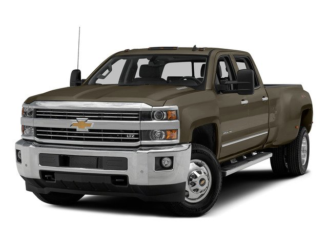 Brownstone Metallic 2015 Chevrolet Silverado 3500HD Pictures Silverado 3500HD Crew Cab LTZ 2WD photos front view